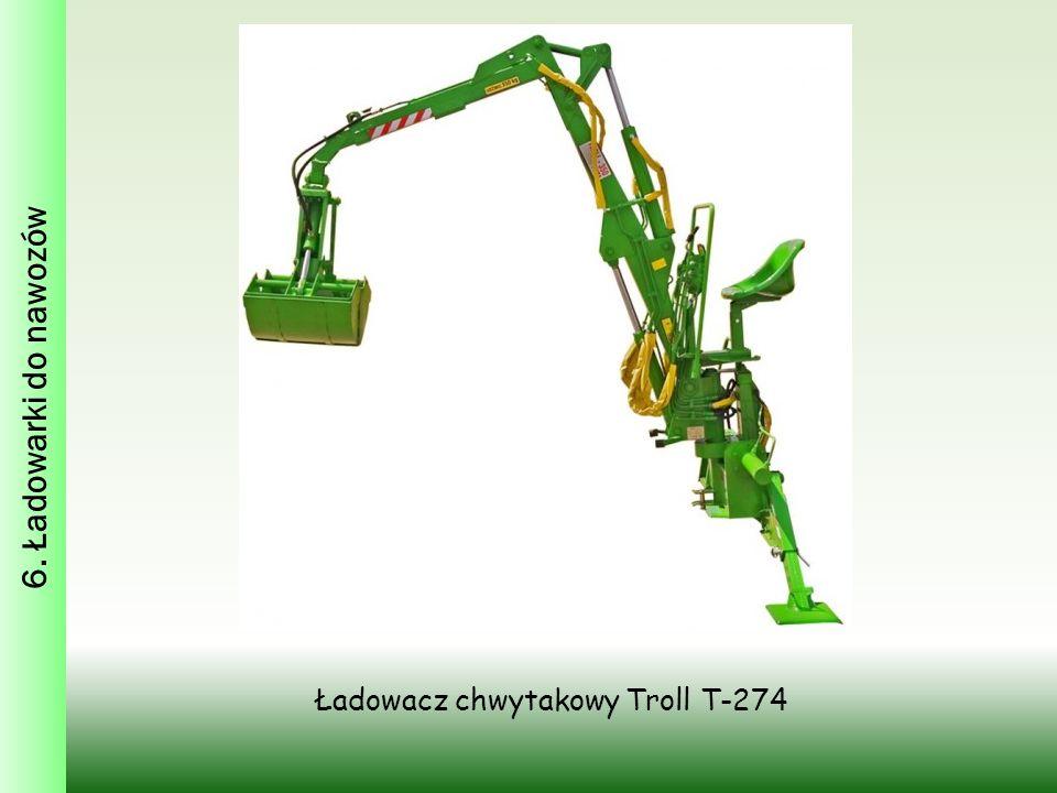 Ładowacz chwytakowy Troll T-274