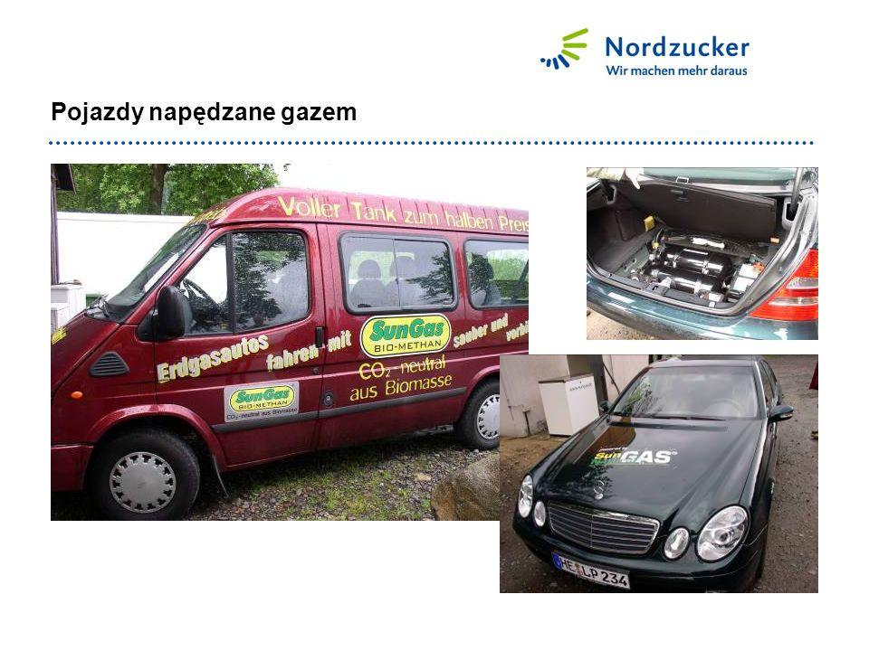 Pojazdy napędzane gazem