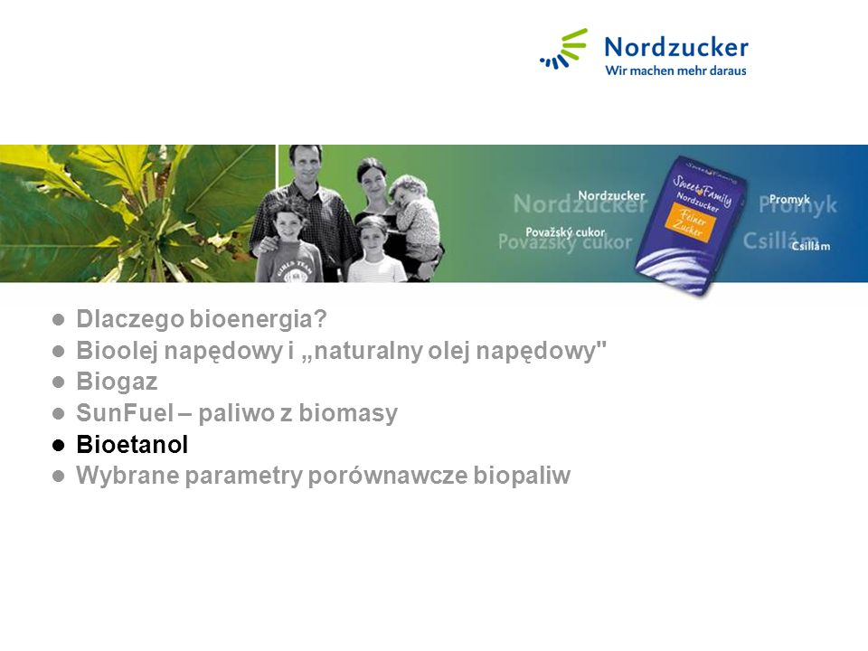 Bioethanol Dlaczego bioenergia.