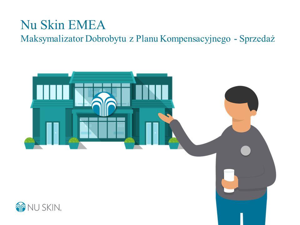 Nu Skin EMEA Maksymalizator Dobrobytu z Planu Kompensacyjnego - Sprzedaż