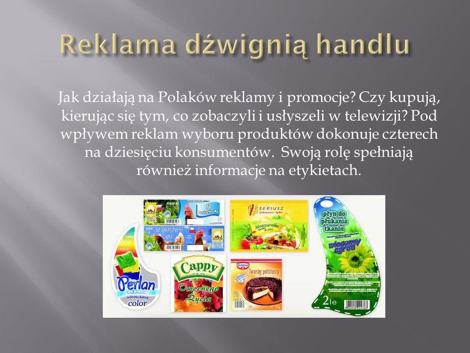Jak działają na Polaków reklamy i promocje? Czy kupują, kierując się tym, co zobaczyli i usłyszeli w telewizji? Pod wpływem reklam wyboru produktów do