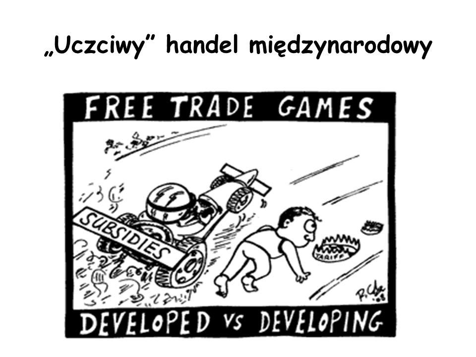 """""""Uczciwy"""" handel międzynarodowy"""