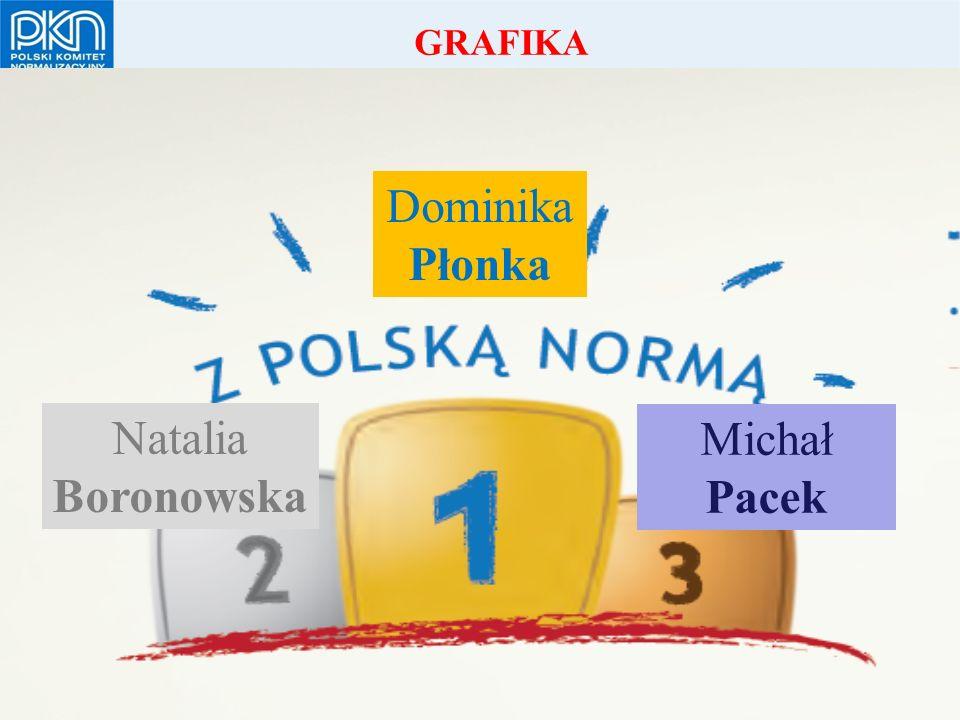 POLSKI KOMITET NORMALIZACYJNY Dominika Płonka Natalia Boronowska Michał Pacek GRAFIKA