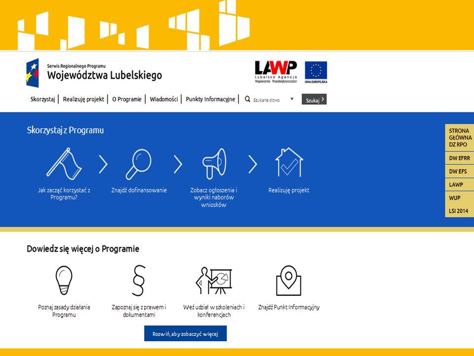 Maksymalny % poziom dofinansowania UE wydatków kwalifikowanych na poziomie projektu Mikro-, małe przedsiębiorstwa – 70 % Średnie przedsiębiorstwa - 60 % Podmiot wdrażający instrument finansowy – 85% Minimalna i maksymalna wartość projektu (PLN) Minimalna wartość projektu: 50 tys.
