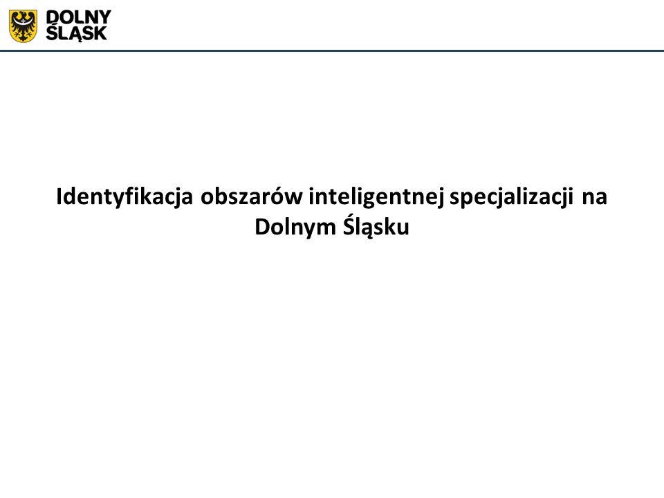 Identyfikacja obszarów inteligentnej specjalizacji na Dolnym Śląsku