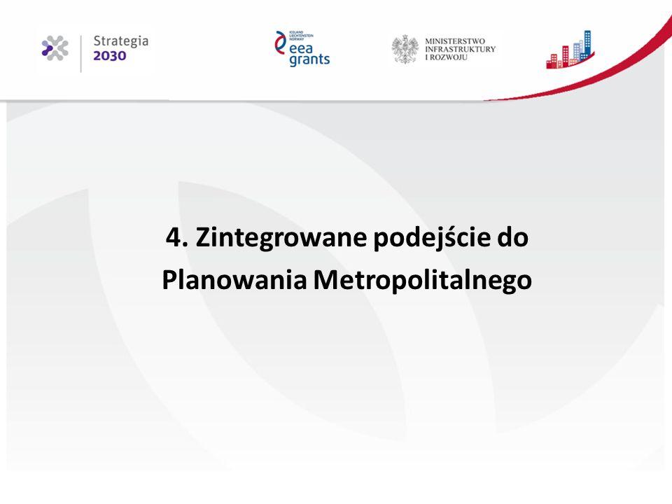 4. Zintegrowane podejście do Planowania Metropolitalnego