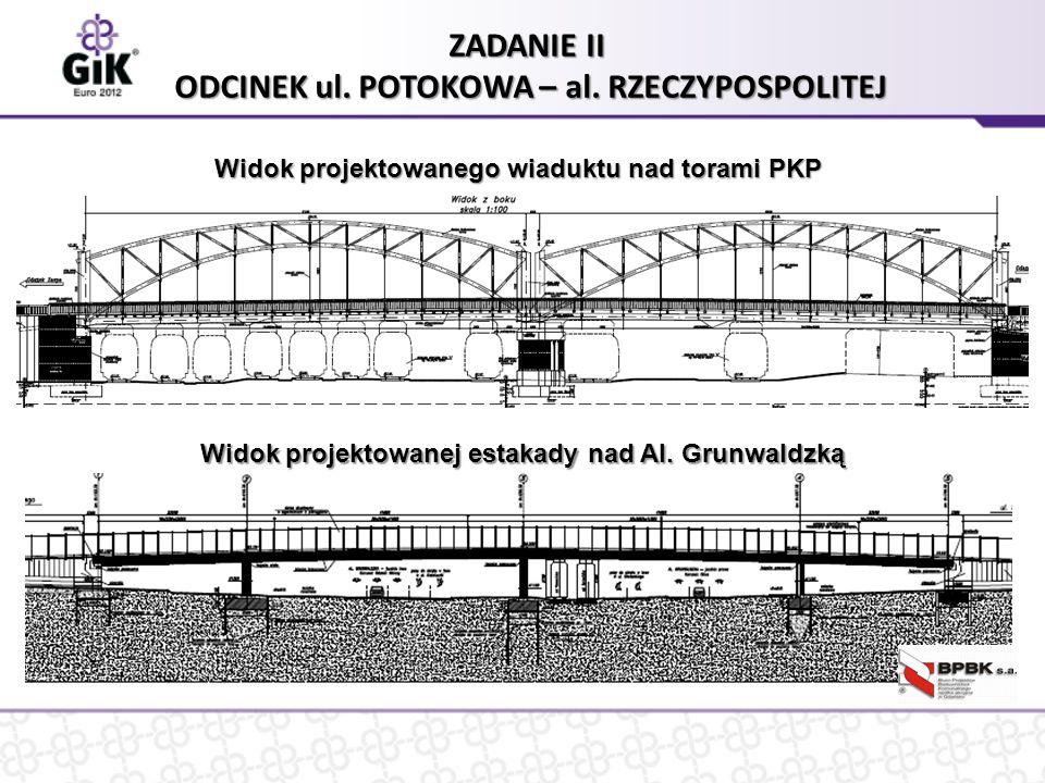 ZADANIE II ODCINEK ul. POTOKOWA – al.