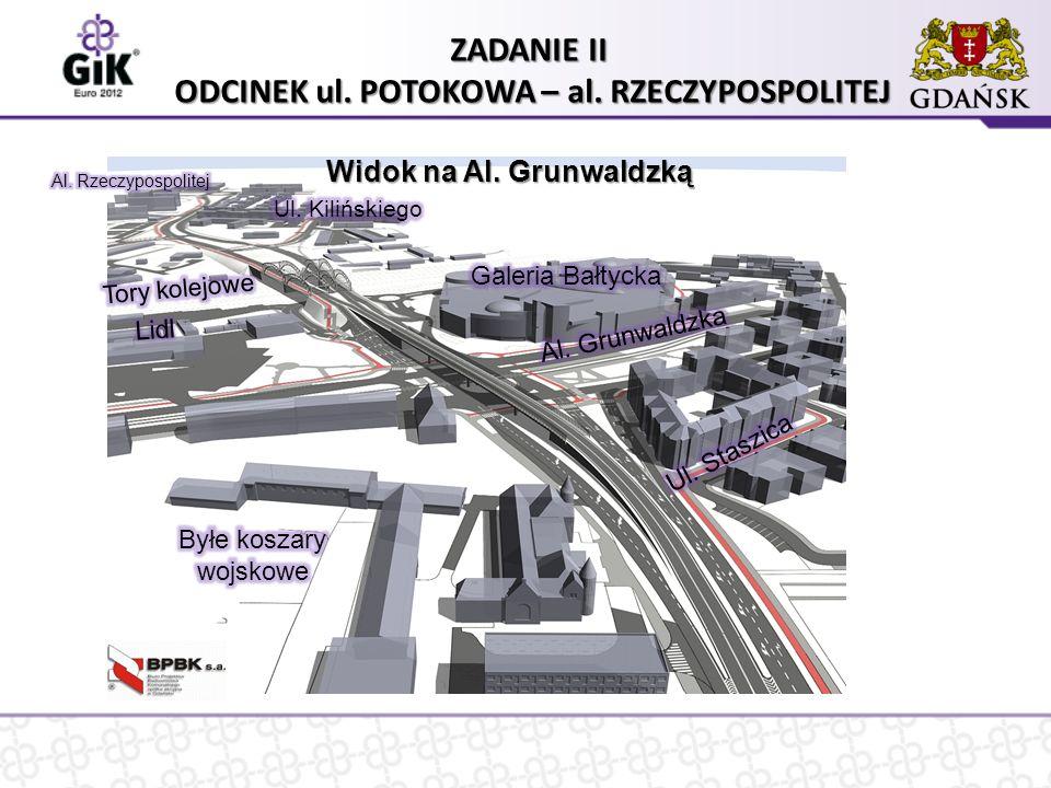 Korzyści płynące z budowy środkowego odcinka Trasy Słowackiego  Realizacja wieloletnich postulatów mieszkańców Gdańska  Usprawnienie ruchu (rozładowanie korków) poprzez zwiększenie przepustowości  Poprawa warunków i bezpieczeństwa ruchu pieszych i pojazdów  Usprawnienie połączenia dolnego tarasu z górnym  Usprawnienie powiązań komunikacyjnych osiedli mieszkaniowych istniejących w obrębie ul.
