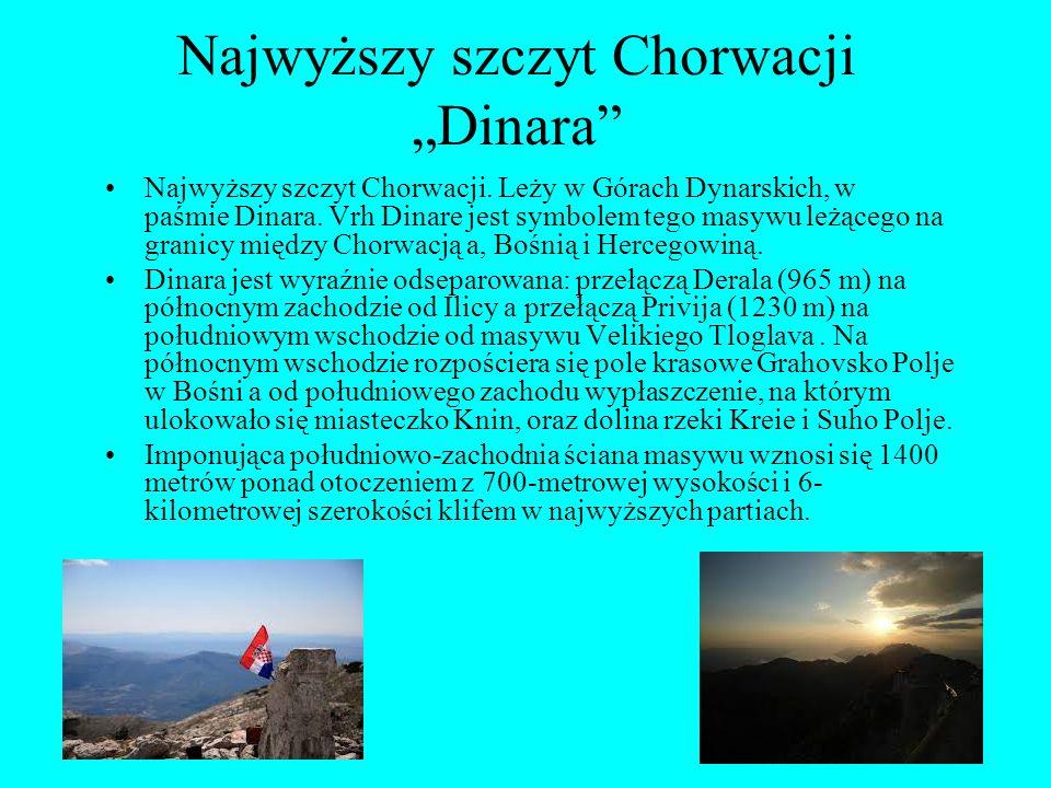 """Najwyższy szczyt Chorwacji """"Dinara Najwyższy szczyt Chorwacji."""