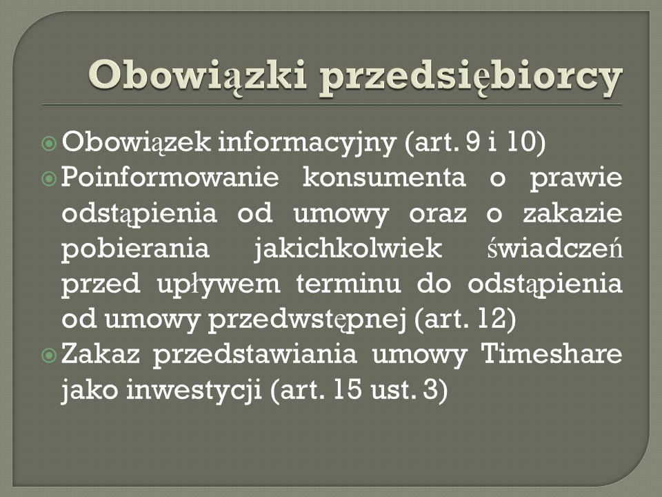  Obowi ą zek informacyjny (art.