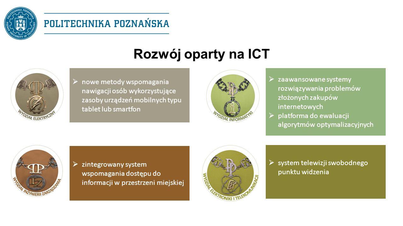 Rozwój oparty na ICT  nowe metody wspomagania nawigacji osób wykorzystujące zasoby urządzeń mobilnych typu tablet lub smartfon  zaawansowane systemy