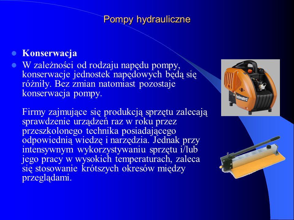 Uruchomienie silnika pompy przed uruchomieniem należy zwrócić uwagę na to, czy pompa hydrauliczna i węże są pozbawione ciśnienia, ponieważ silnik spalinowy startuje z trudem.