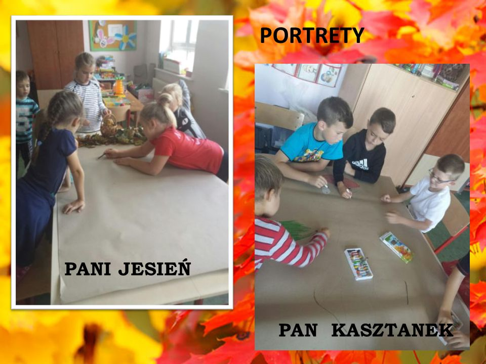 PORTRETY PANI JESIEŃ PAN KASZTANEK