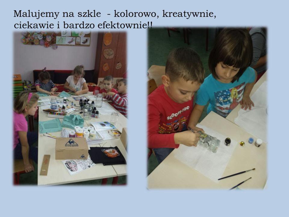 Malujemy na szkle - kolorowo, kreatywnie, ciekawie i bardzo efektownie!!