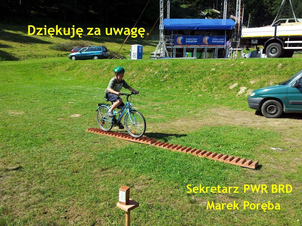 Dziękuję za uwagę. Sekretarz PWR BRD Marek Poręba