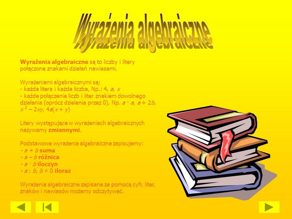 Wyrażenie za pomocą liter podstawowych własności działań arytmetycznych zapoczątkowało tak zwany rachunek literowy i wpłynęło na zmianę poglądu na algebrę: z nauki o rozwiązywaniu równań przekształciła się ona w naukę o działaniach na literach (tak właśnie rozumie się obecnie algebrę w nauczaniu szkolnym).