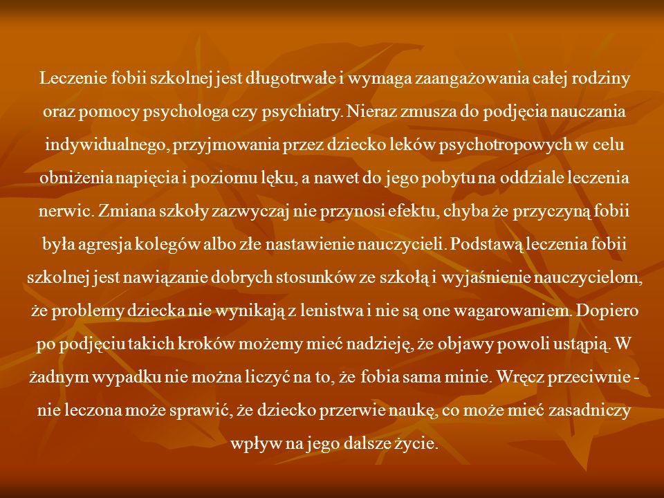 Bibliografia J.Elliott, M. Place, Dzieci i młodzież w kłopocie, WSiP, Warszawa 2000.