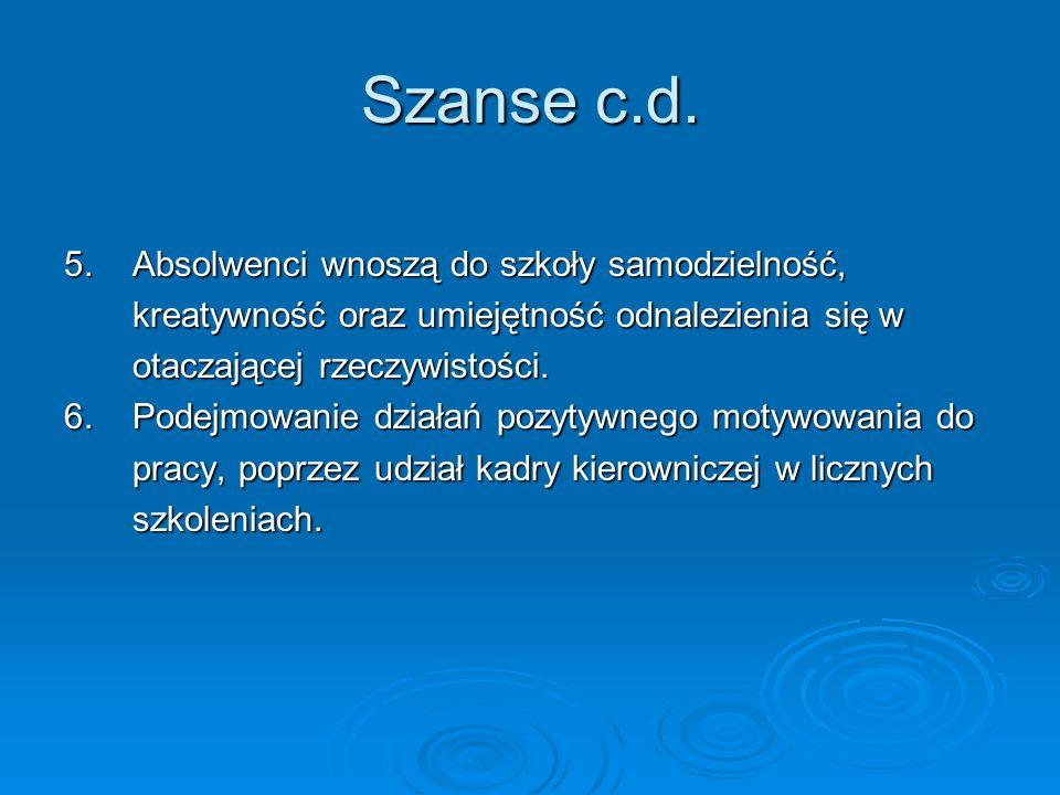 Szanse c.d. 5.