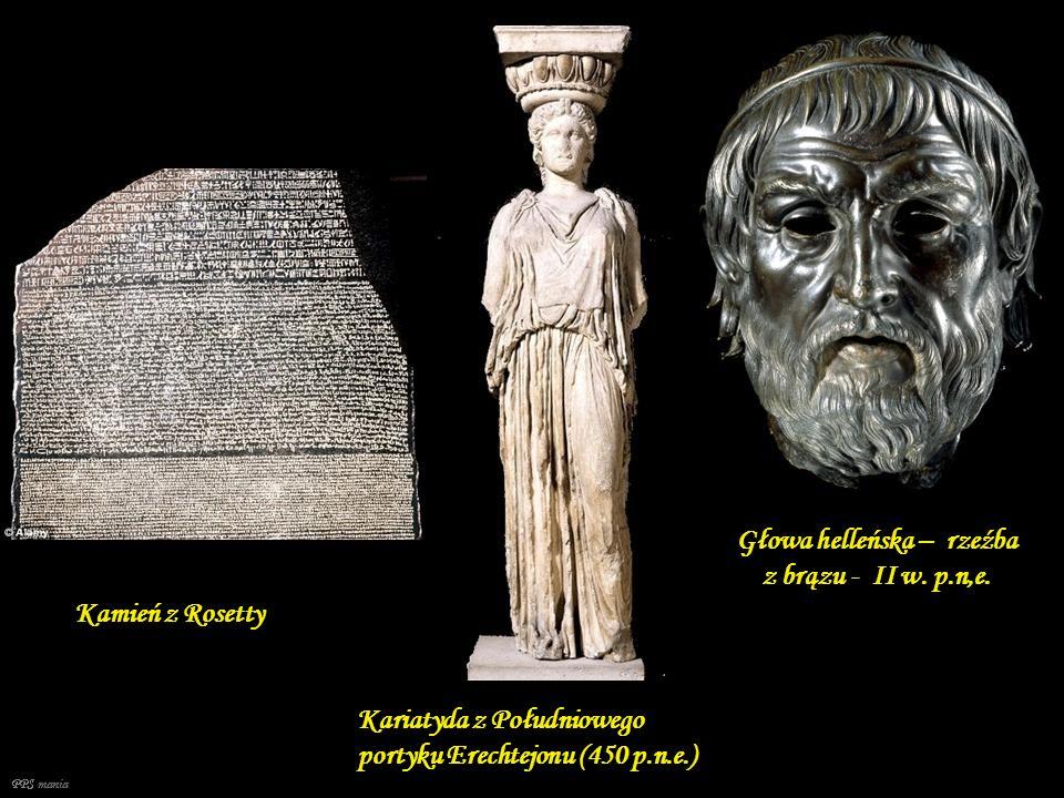 Fryzy ze świątyń Akropolu w Atenach (Partenon V w. p.n.e.) Koryncka Amfora czarnofigurowa ( około 600 p.n.e.)