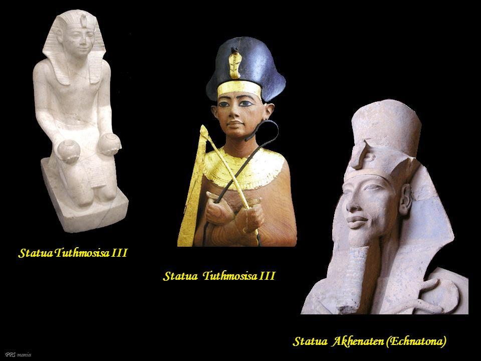 Złota maska grobowa faraona Tutanchamona, Muzeum Egipskie, Tors Tutanchamuna PPS mania