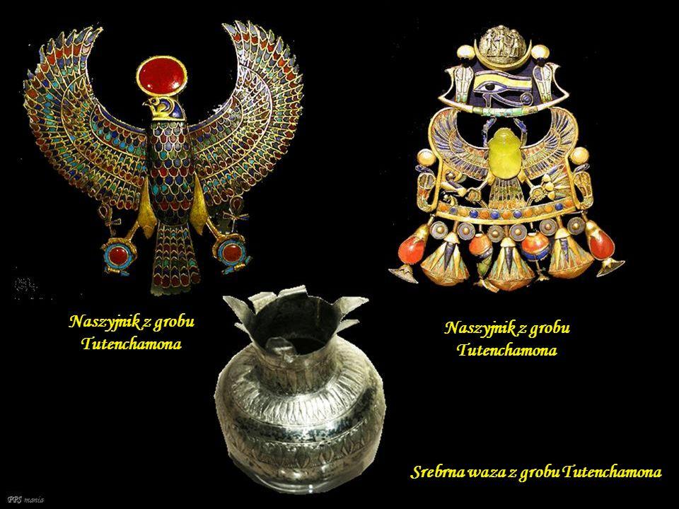 PPS mania Tron Tutanchamona Złoty Diadem Tutenhamona Kolia grobowa księżniczki Nefereruptah