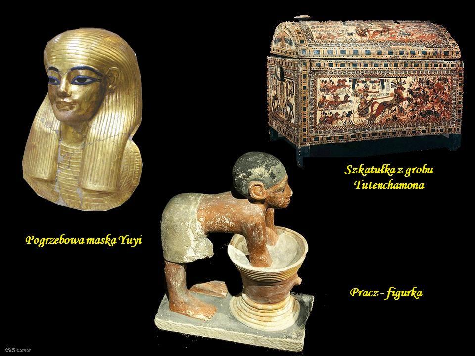 PPS mania Naszyjnik z grobu Tutenchamona Srebrna waza z grobu Tutenchamona Naszyjnik z grobu Tutenchamona