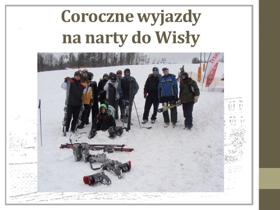 Coroczne wyjazdy na narty do Wisły