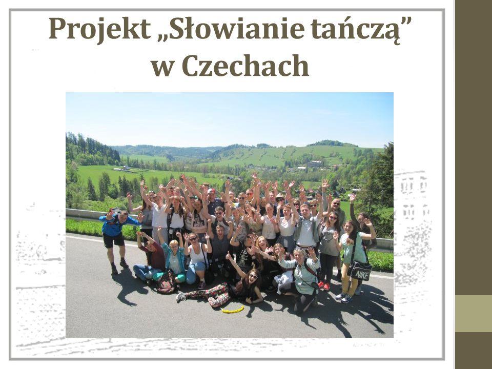 """Projekt """"Słowianie tańczą"""" w Czechach"""