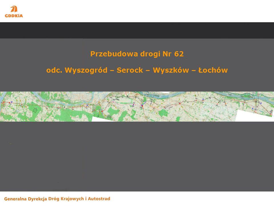 Odnowy -DK 60 przejście przez Gostynin Długość odcinka – 7,2 km Wartość kosztorysowa zadania – 7,3 mln zł.