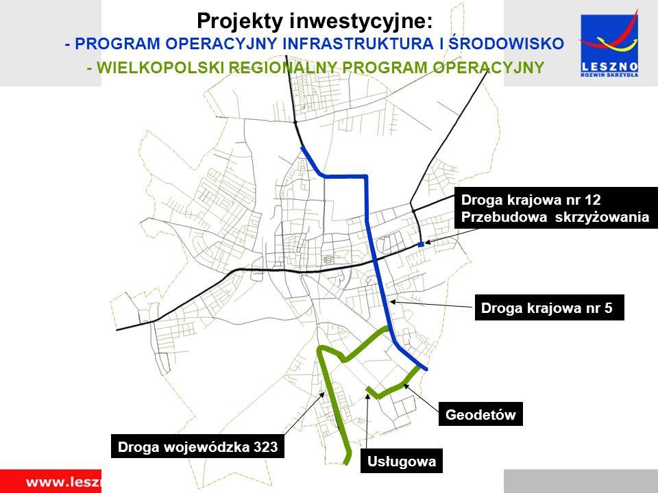 Przebudowa drogi krajowej nr 5 w Lesznie, odcinek ul.