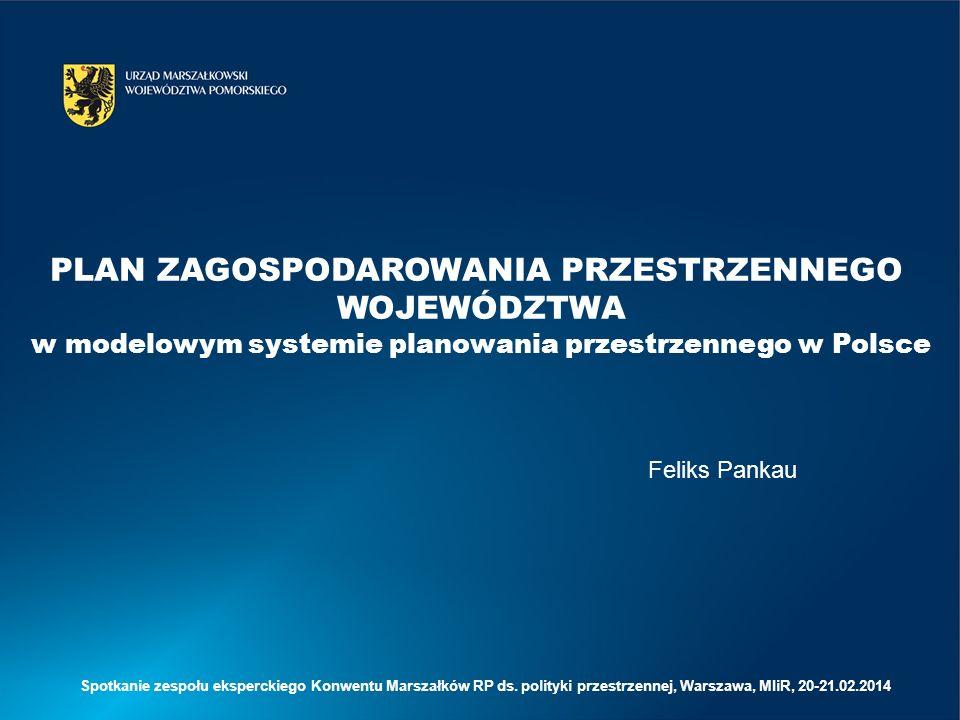 Plan zagospodarowania przestrzennego województwa 1.