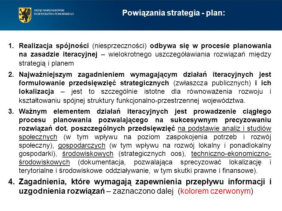 1.Realizacja spójności (niesprzeczności) odbywa się w procesie planowania na zasadzie iteracyjnej – wielokrotnego uszczegóławiania rozwiązań między st