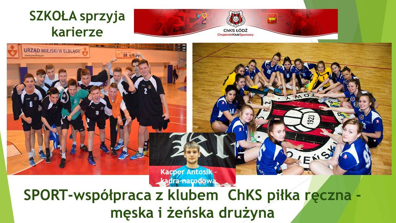 SPORT –lekkoatletyka-współpraca z klubem RKS.