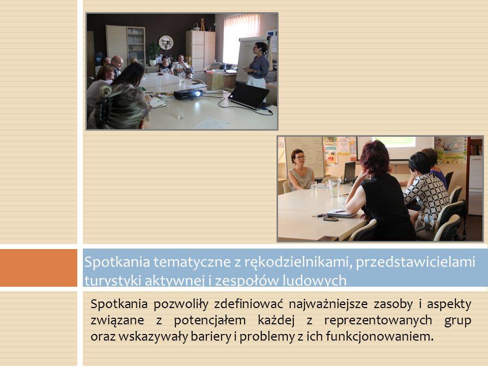 Spotkania pozwoliły zdefiniować najważniejsze zasoby i aspekty związane z potencjałem każdej z reprezentowanych grup oraz wskazywały bariery i problem