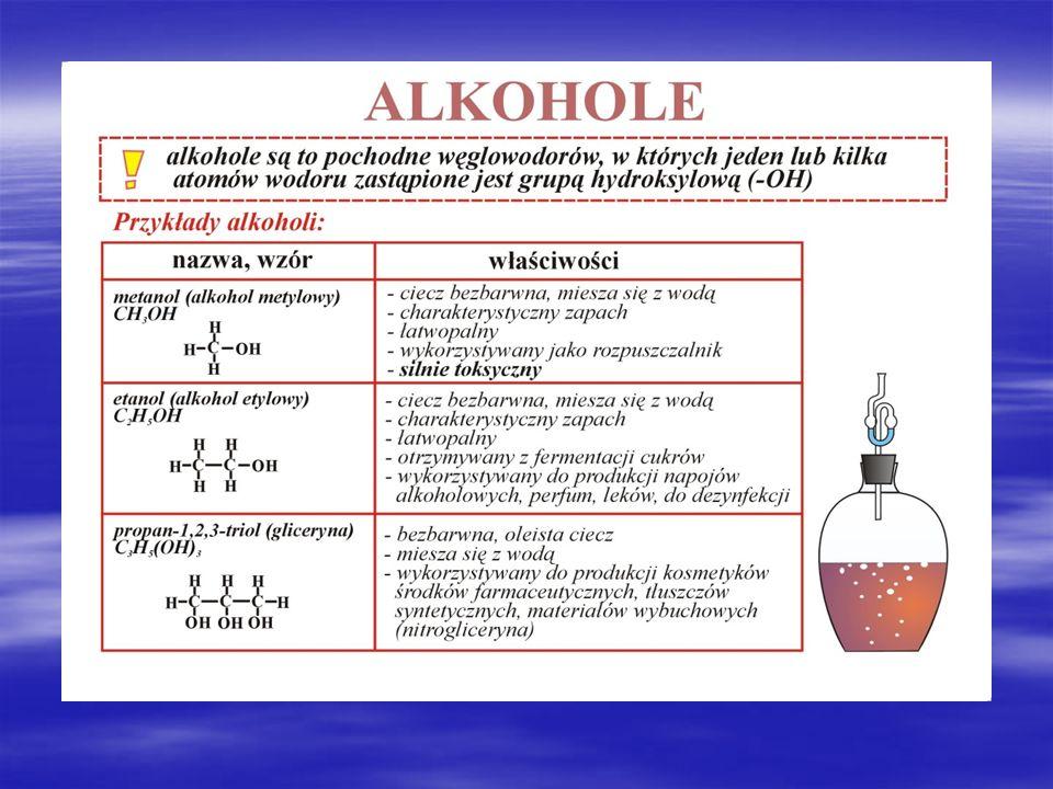 Źródła: http://pl.wikipedia.org/wiki/Alkohole http://pl.wikipedia.org/wiki/Alkohole http://www.scholaris.pl/zasob/60165?bid=0&iid=&query=metanol&api= http://www.scholaris.pl/zasob/60165?bid=0&iid=&query=metanol&api= http://www.arslege.pl/ustawa-o-wychowaniu-w-trzezwosci-i-przeciwdzialaniu- alkoholizmowi/k331/s3379/ http://www.arslege.pl/ustawa-o-wychowaniu-w-trzezwosci-i-przeciwdzialaniu- alkoholizmowi/k331/s3379/ http://www.alkoholizm.akcjasos.pl/25.php http://www.alkoholizm.akcjasos.pl/25.php http://gimbel1454.republika.pl/alkoholizm.htm http://gimbel1454.republika.pl/alkoholizm.htm http://alkoholizm.akcjasos.pl/ http://alkoholizm.akcjasos.pl/ http://www.kryminalistyka.fr.pl/forensic_alkohole_02.php http://www.kryminalistyka.fr.pl/forensic_alkohole_02.php http://www.rp.pl/artykul/711333.html?print=tak http://www.rp.pl/artykul/711333.html?print=tak http://www.alko-test.pl/i4,wplyw-alkoholu.html http://www.alko-test.pl/i4,wplyw-alkoholu.html http://www.google.pl/url?sa=t&rct=j&q=&esrc=s&source=web&cd=3&ved=0CCUQFjAC&url=http%3A %2F%2Fwww.obserwator.com.pl%2Ffile%2Fmedia%2FPostawy_dzieci_i_mlodziezy_wobec_sytuacji _uzalezniajcych.pdf&ei=i6JXVYeiDMKhsAHC5YCwDg&usg=AFQjCNF8YHaVNIHbjHKzp88EzH7gMh 84Sw – ankieta http://www.google.pl/url?sa=t&rct=j&q=&esrc=s&source=web&cd=3&ved=0CCUQFjAC&url=http%3A %2F%2Fwww.obserwator.com.pl%2Ffile%2Fmedia%2FPostawy_dzieci_i_mlodziezy_wobec_sytuacji _uzalezniajcych.pdf&ei=i6JXVYeiDMKhsAHC5YCwDg&usg=AFQjCNF8YHaVNIHbjHKzp88EzH7gMh 84Sw – ankieta http://isap.sejm.gov.pl/DetailsServlet?id=WDU19820350230 – penalizacja sprzedaży alkoholu http://isap.sejm.gov.pl/DetailsServlet?id=WDU19820350230 – penalizacja sprzedaży alkoholu http://www.google.pl/url?sa=t&rct=j&q=&esrc=s&source=web&cd=1&ved=0CCEQFjAA&url=http%3A %2F%2Fbip.msw.gov.pl%2Fftp%2FSTRONABIP%2Fprogramznsipwdim_wersja_oryginalna.doc&ei=j aRXVYW5KsWasgHHoYHoDg&usg=AFQjCNGx8THbRO9KIIg7qifHPideZz_Eog http://www.google.pl/url?sa=t&rct=j&q=&esrc=s&source=web&cd=1&ved=0CCEQFjAA&url=http%3A 