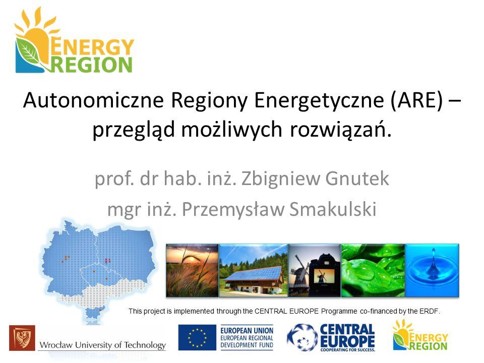 Autonomiczne Regiony Energetyczne (ARE) – przegląd możliwych rozwiązań.