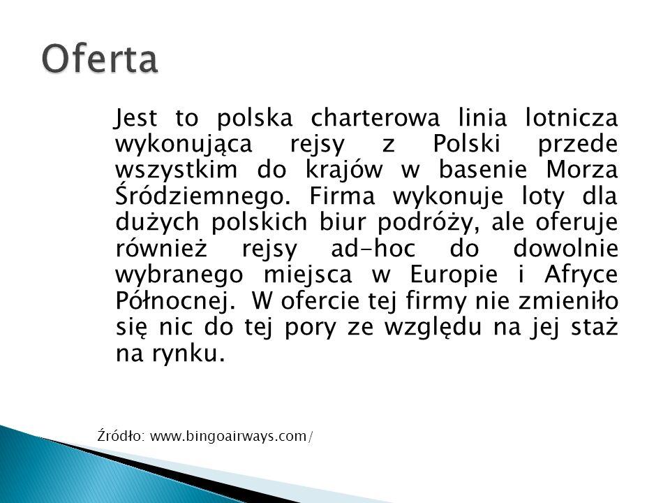 Jest to polska charterowa linia lotnicza wykonująca rejsy z Polski przede wszystkim do krajów w basenie Morza Śródziemnego.