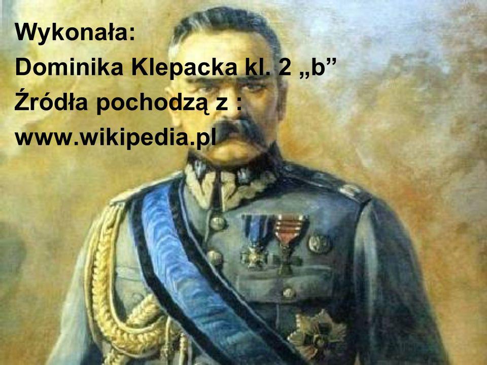 """Wykonała: Dominika Klepacka kl. 2 """"b Źródła pochodzą z : www.wikipedia.pl"""