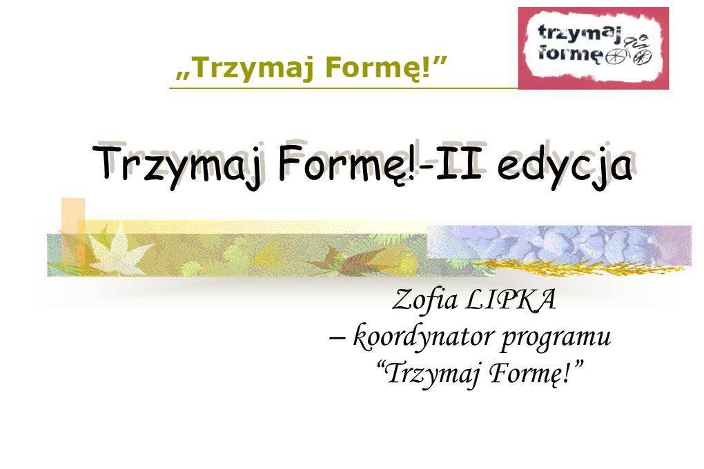 Interaktywna strona edukacyjna www.trzymajforme.pl
