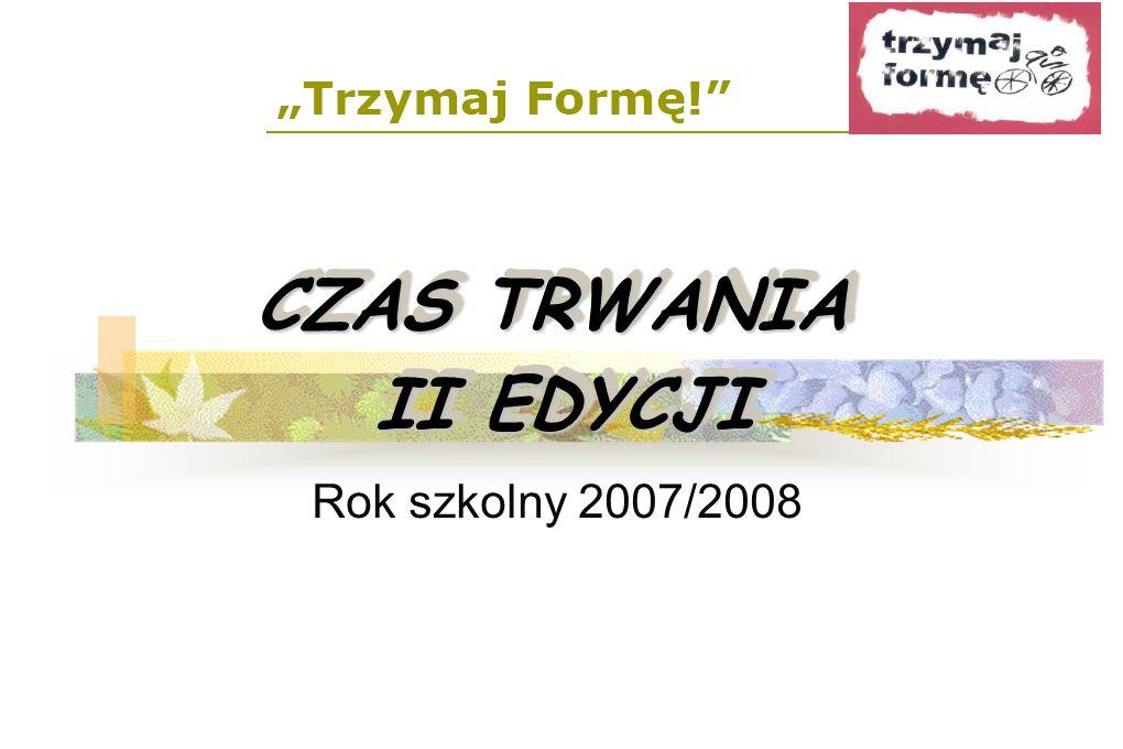 METODYKA REALIZACJI PROGRAMU: Doskonalenie szkolnych koordynatorów programu Wykonawcy: - PSSE - WSSE - reginalni i lokalni partnerzy Termin: XI-XII 2007