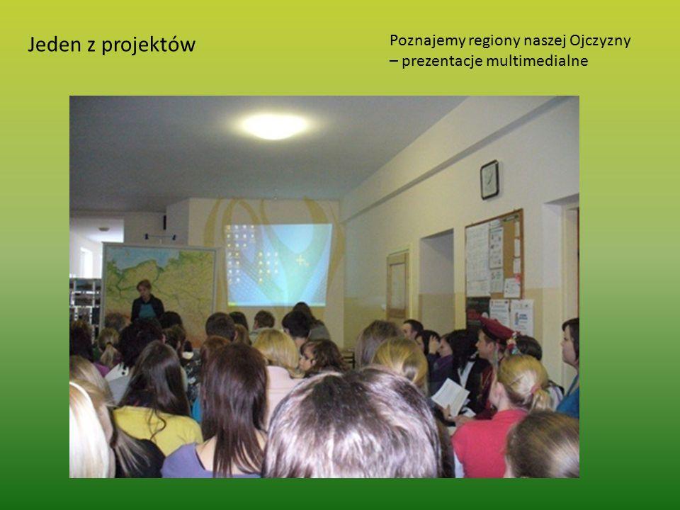 Jeden z projektów Poznajemy regiony naszej Ojczyzny – prezentacje multimedialne