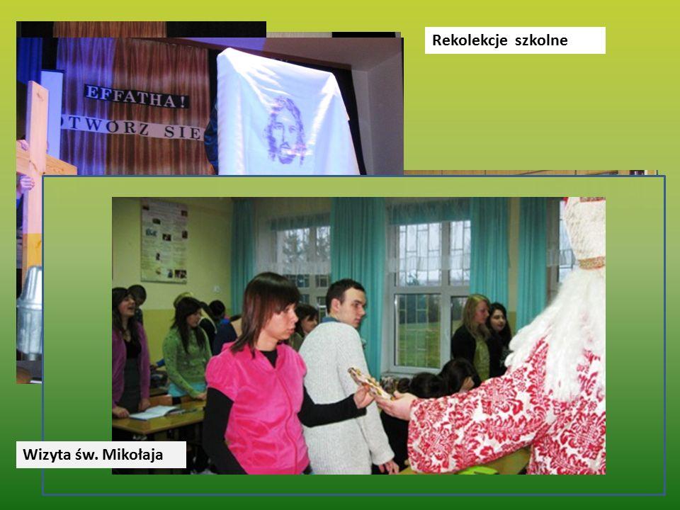 Rekolekcje szkolne Wizyta św. Mikołaja