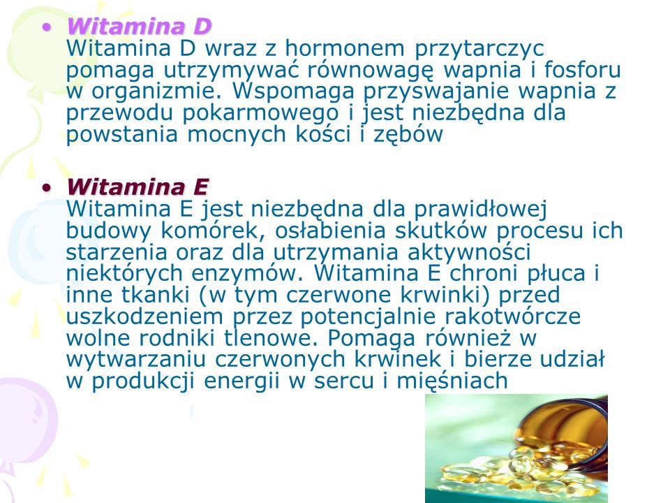 Biotyna Kwas foliowy Witamina CBiotyna Biotyna jest niezbędna do rozkładu kwasów tłuszczowych i węglowodanów pobieranych z diety w celu przemiany ich w energię, do wytwarzania tłuszczów oraz wydalania produktów rozpadu białek.