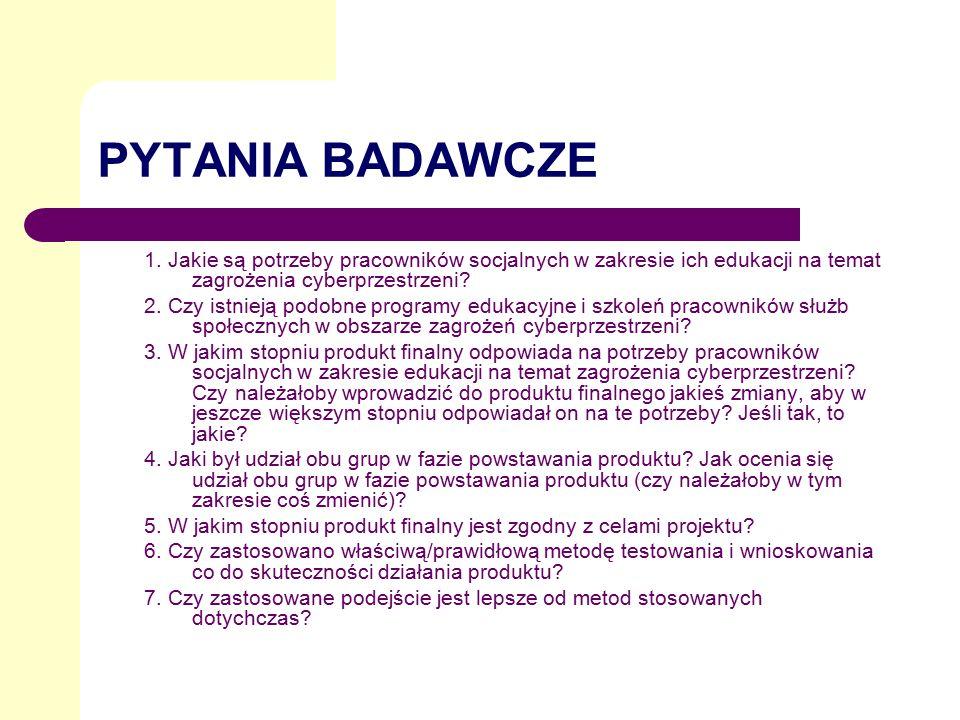 PYTANIA BADAWCZE 1.