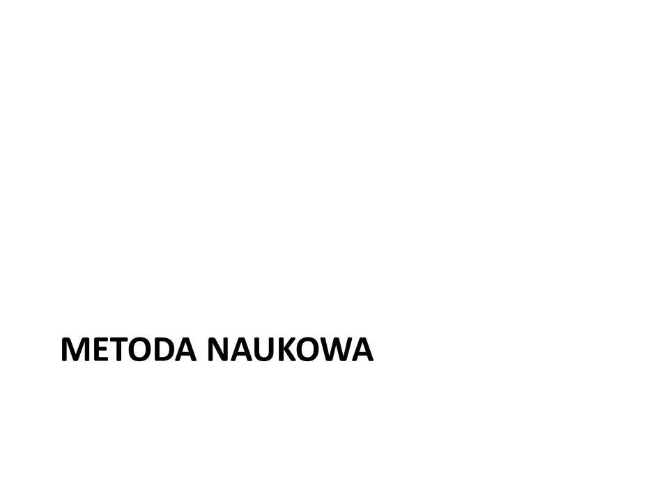 METODA NAUKOWA
