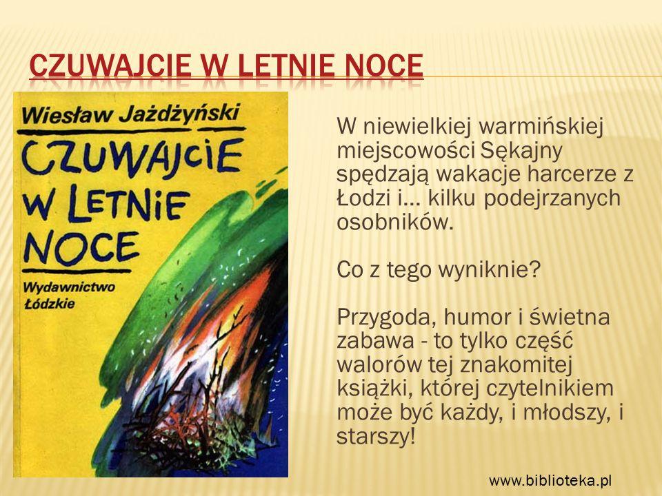 W niewielkiej warmińskiej miejscowości Sękajny spędzają wakacje harcerze z Łodzi i...