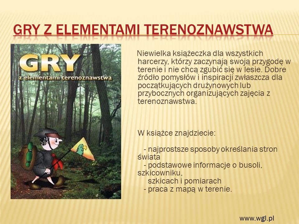 Niewielka książeczka dla wszystkich harcerzy, którzy zaczynają swoją przygodę w terenie i nie chcą zgubić się w lesie. Dobre źródło pomysłów i inspira