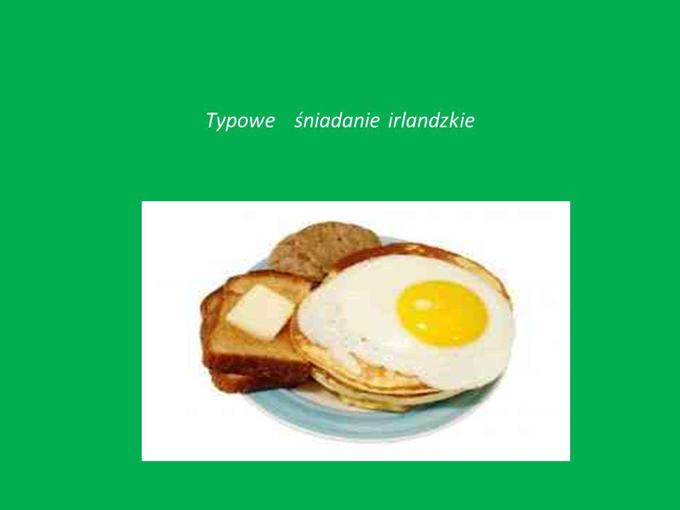 Typowe śniadanie irlandzkie