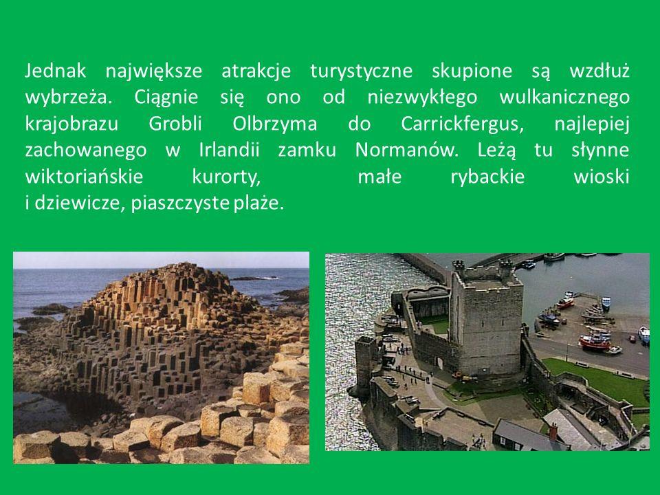 Jednak największe atrakcje turystyczne skupione są wzdłuż wybrzeża.