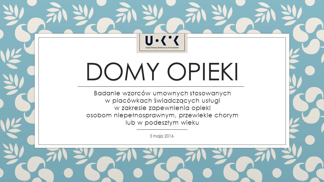 Badanie prowadzone było od 2014 roku na terenie całej Polski.